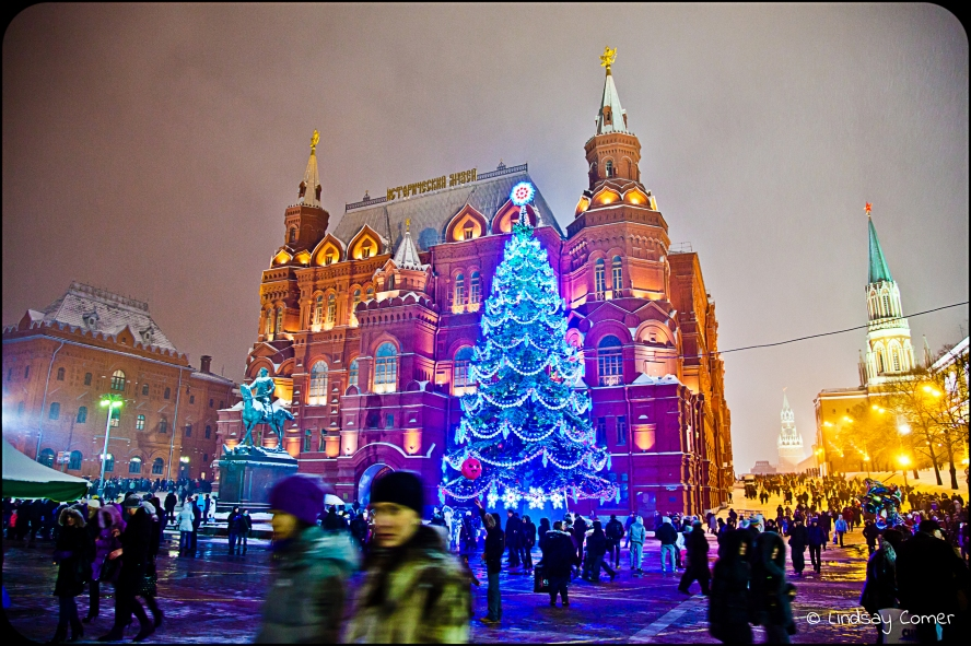 NY moscow red square