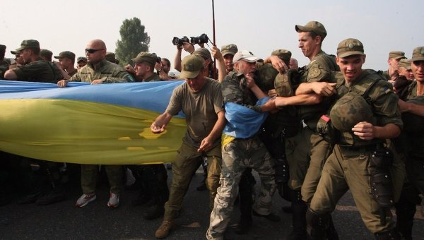 chrestniy khod disrupted near kiev by oun nazis